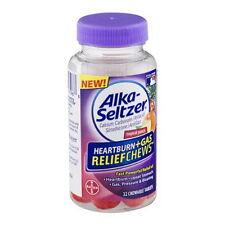 Alka-Seltzer Antacid Heartburn + Gas Relief Chews Tropical Punch - 32 ea