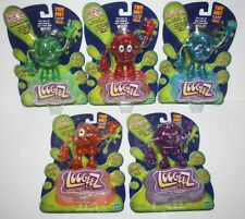 Complete Set of Hasbro LOOGEEZ Malcolm Pierre Clyde Morty Lord Action Figures
