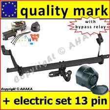 Towbar + Electrics ISO 13-pin Citroen Berlingo L=4680 2008- swan neck BOX MPV