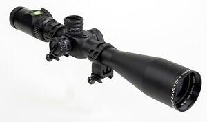 PAO® F1 5-20 x 50 IR PA First Focal Plane Rifle Scope inc.Mounts & Sun Shade