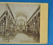 1860/70s Stereoview Photo Italy Chiesa Dei Carmini Venezia Venice Carlo Naya