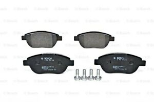 BOSCH Disc Brake Pads SET Front Axle Fits CITROEN C3 C4 PEUGEOT 207 307 1999-