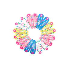 18x BABY GIRLS HAIR CLIPS SMALL MINI SNAP HAIR CLIP GIRLS TINY CLIPS BABY CLIPS