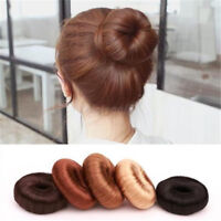 Hair Updo Maker Wig Hair Ring Sponge Curler Brides Bun Maker Donut Shaper