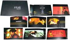 2046 Wong Kar Wai 王家衛 Tony Leung Chiu Wai 梁朝偉  Ziyi Zhang 章子怡  FRENCH PRESSBOOK