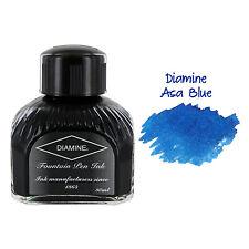 Diamine Fountain Pen Bottled Ink, 80ml - Asa Blue