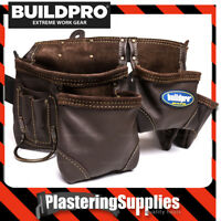 BuildPro Tool Belt Apron 11 Pocket OIL TANNED LEATHER LWTASP011
