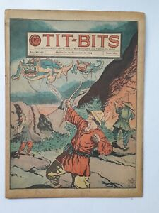 KUNG FU THE RELENTLESS! - TIT-BITS #1852 (1944) - COMIC IN SPANISH - ARGENTINA