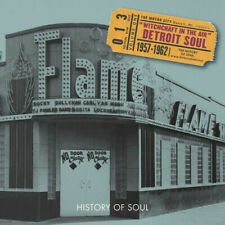 Witchcraft In The Air  Detroit Soul 1957-1962  History of Soul 2CD SOUL013
