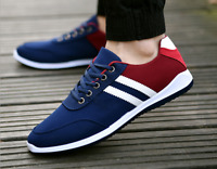 NEW men's spring Soft Breathable Outdoor Running Sports Trainers canvas Shoes