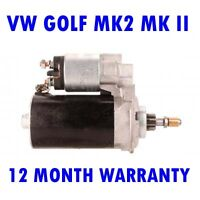 VW Golf mk2 mk II 1.6 1.8 1983 1984 1985 1986 1987 - 1992 starter motor