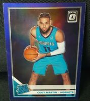 2019-20 Donruss Optic Cody Martin Rated Rookie RC Purple Holo #181 SP Hornets