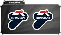 2 Adesivo Stickers TERMIGNONI resistente al calore 11 cm