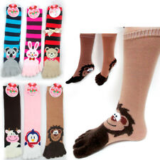 12 Pairs Toe Socks Calf Length Funny Feet Animal Womens Striped Toe Socks Toesox