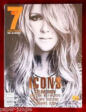 7 Hollywood Magazine ~ #1 Fall/Winter 2012 ~ Celine Dion