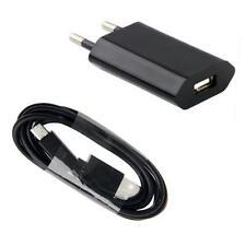 2in1 Micro-USB Ladekabel Ladegerät für LG G3 G4 K3 K4 K7 K8 K10 X-Cam - Schwarz