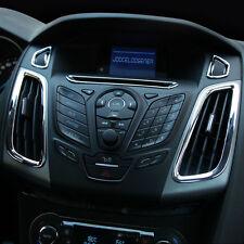 Nuevo Ford Focus Mark 3 MK III Centro Interior Perillas De Ventilación Cromo Envolvente Recortar
