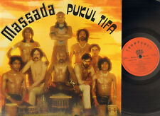 MASSADA Pukul Tifa LP 1979 Gatefold DRAWINGS-LYRICS Sleeve