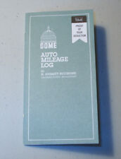 Dome Auto Mileage Log Book Monthly Record Keeping Free Shipping Dom 770 Odometer