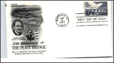 Issue 1977 cancel Buffalo ny 50th. a. Peace brigde EE. UU.