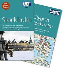 DuMont direkt Reiseführer m. großem Cityplan Stockholm UNBENUTZT statt 9.99 nur