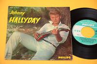 JOHNNY HALLYDAY EP (4 CANZONI) 1°ST ORIGINALE 1962 COPERTINA LAMINATA