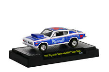1968 Plymouth Barracuda HEMI Super Stock wsbl, M2 Machines Wild Cards (04), 1:64