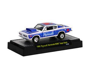 1968 Plymouth barracuda Hemi Super Stock Wsbl ,M2 Machines Sauvage Cards (04),1
