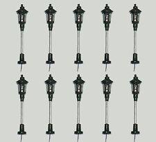 S091 - 10 Stück Lampen Straßenlampen Parklampe 1-flammig 5cm Parkleuchte