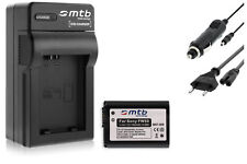 Batterie NP-FW50 + Chargeur pour Sony DSLR-A3000, A-5000, A-6000