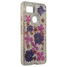 Case-Mate Karat serie caso Para Google Pixel 2 XL-flores de color púrpura pétalos/Real