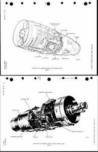 Rolls-Royce Avon Turbojet Manual rare Aero Jet engine 1960's - 80's RA.28 200