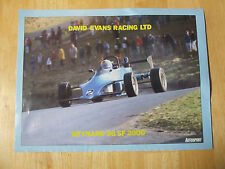 REYNARD 86 SF 2000 DAVID EVANS RACING POSTER ADVERT READY TO FRAME A4 SIZE