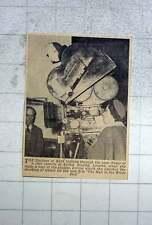 1951 Duchess Of Kent Looking Through The Viewfinder Ealing Studios