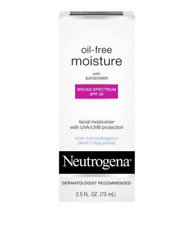Neutrogena Oil-Free Facial Moisturizer Lotion SPF 35 - 2.5 fl oz NEW