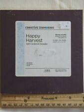 """Creative Memories 6x6"""" HAPPY HARVEST Metallic Cardstock Sampler Paper Scrapbook"""