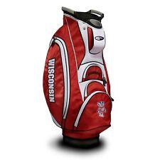 Brand New Team Golf Ncaa Wisconsin Badgers Victory Cart Bag 23973