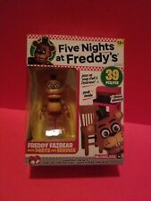 NEW Five Nights At Freddy's MCFARLANE Freddy Fazbear with Parts and Service 39PC