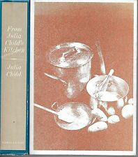 From Julia Child's Kitchen by Julia Child. N.Y. 1975. First Edition.