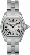 W62016V3 | BRAND NEW & AUTHENTIC WOMEN'S CARTIER ROADSTER STAINLESS STEEL WATCH