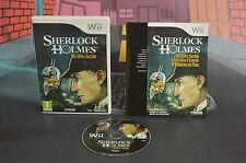 SHERLOCK HOLMES THE SILVER EARRING PAL UK NINTENDO WII WIIU COMBINED SHIPPING