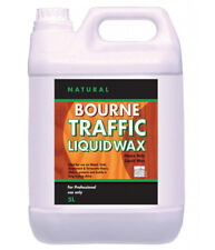 Johnsons Diversey Bourne Traffic Liquid Wax (Natural) 5 Litre Wood Floor Polish