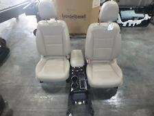 14-15 KIA SORENTO FRONT SEAT CONSOLE TAN LEATHER HEAT COOL MEMORY POWER