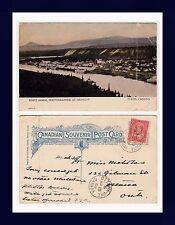 CANADA YUKON WHITEHORSE AT MIDNIGHT, 1908 TO MISS NICHOLAS, OTTAWA, ONTARIO