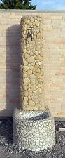 mosaici fontane in marmo per giardino