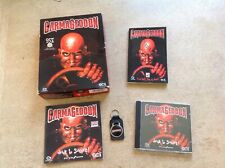 Carmageddon PC big box with booklet and key ring