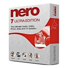 New NERO Burning ROM 7 Ultra CD DVD Burner Essentials Windows Edition Download