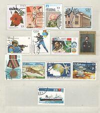 Q7967 - CUBA - 1977/90 - LOTTO USATO AEREA - VEDI FOTO