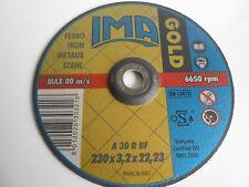 Disco Gold da taglio per ferro diam. 230x 3,2x22 art. 2303222F2DT Ima