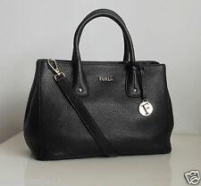 FURLA  Damen Tasche Modell: SERENA  Echtes Leder Farbe: onyx  Neu